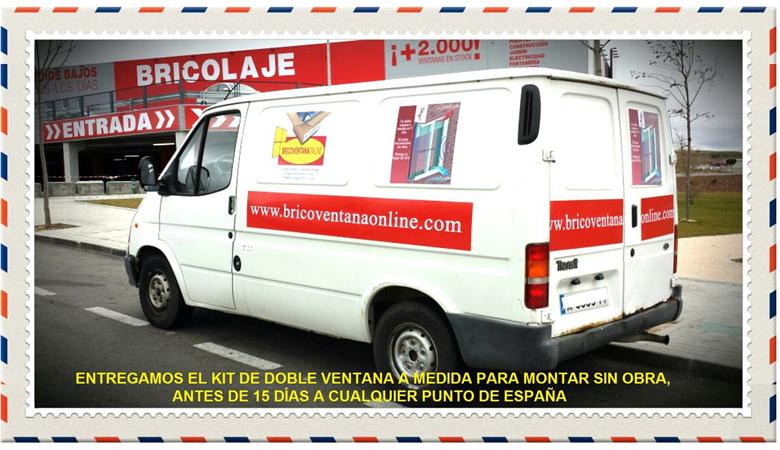 Bricoventana online, ventanas de aluminio en España